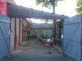 demolice jedné z garáží 2